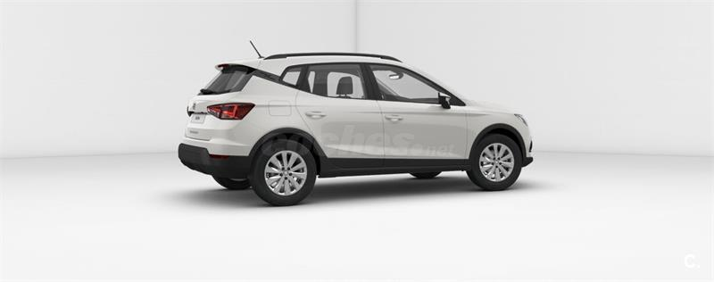 seat arona 4x4 1 0 tsi 85kw 115cv dsg style eco gasolina de km0 de color blanco blanco en. Black Bedroom Furniture Sets. Home Design Ideas