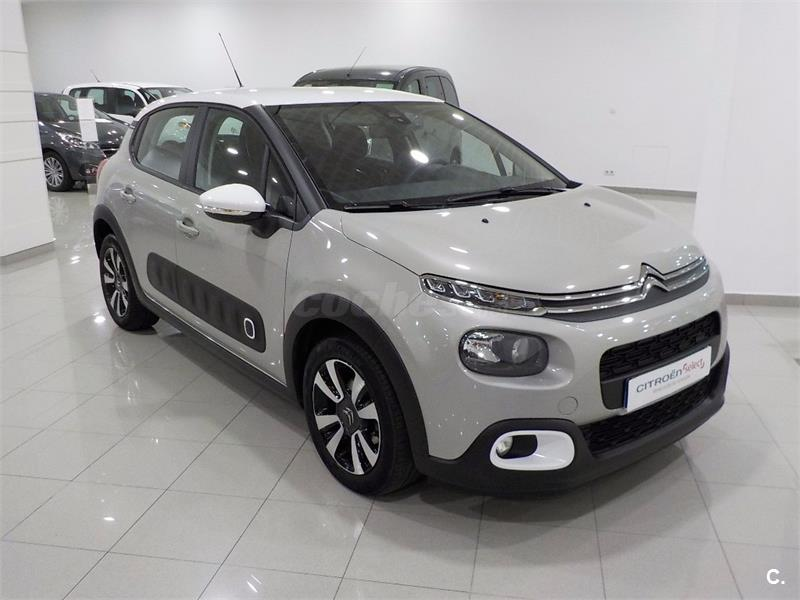 citroen c3 bluehdi 73kw 100cv ss feel diesel beige beige arena techo blanco del 2017 con. Black Bedroom Furniture Sets. Home Design Ideas
