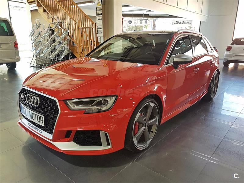 audi a3 berlina rs 3 2 5 tfsi quattro s tronic sportback gasolina de km0 de color rojo rojo en. Black Bedroom Furniture Sets. Home Design Ideas
