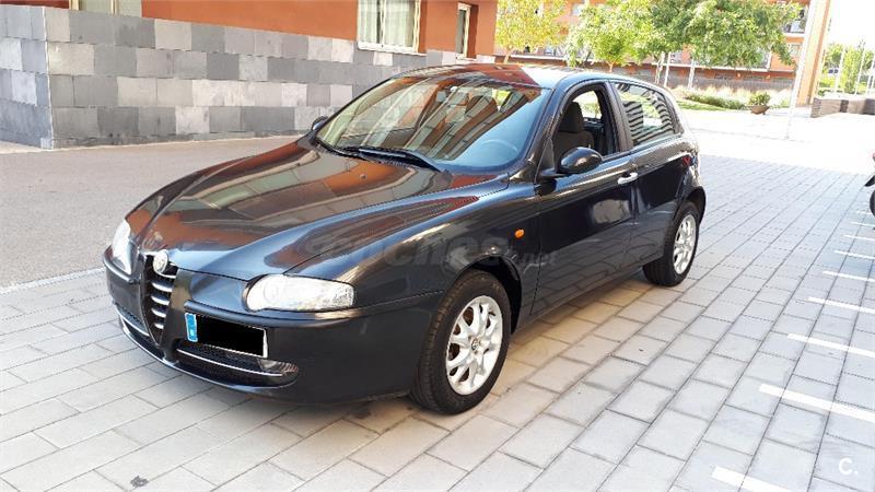 alfa romeo 147 1.6 ts 105cv distinctive gasolina negro (negro) del