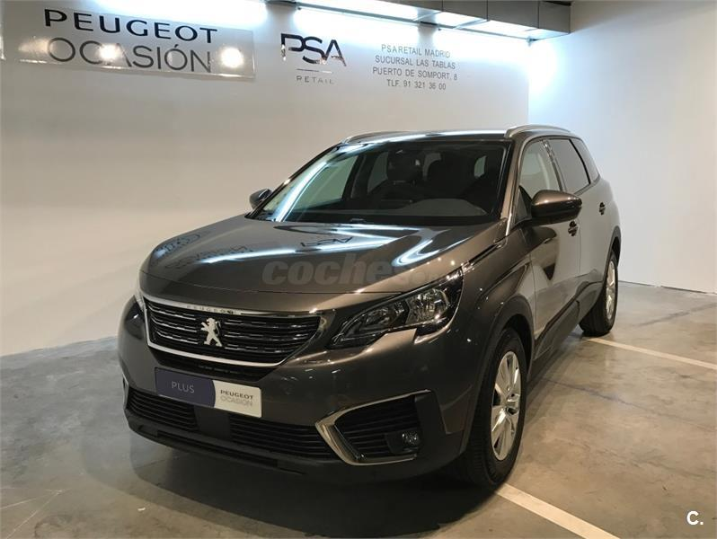 peugeot 5008 4x4 active bluehdi 88kw 120cv ss diesel de color gris plata gris platinum y. Black Bedroom Furniture Sets. Home Design Ideas