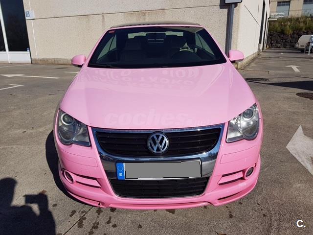 volkswagen eos 2 0 tdi 140cv dpf diesel rosa rosa del 2008 con 168000km en vizcaya 33954225. Black Bedroom Furniture Sets. Home Design Ideas