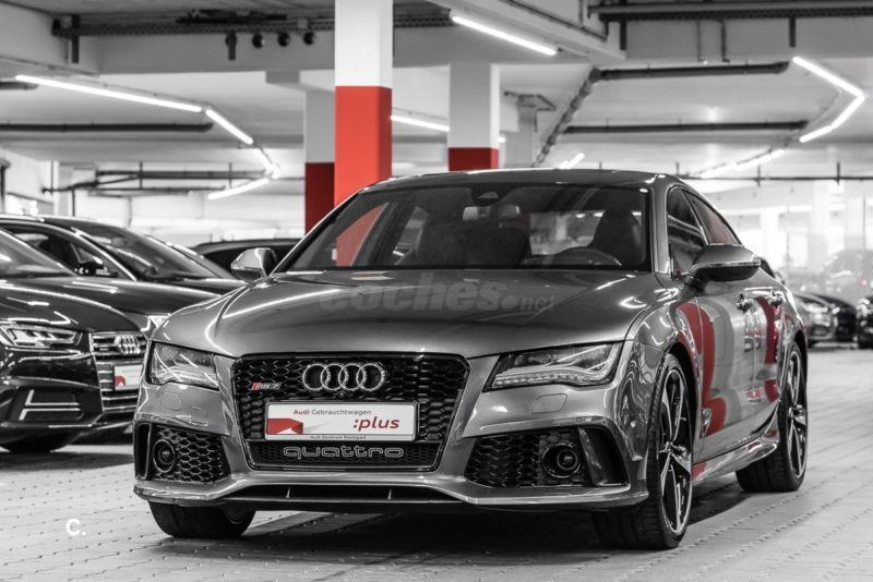 audi rs7 sportback 4 0 tfsi 560 quattro tiptronic gasolina gris plata gris daytona efecto. Black Bedroom Furniture Sets. Home Design Ideas