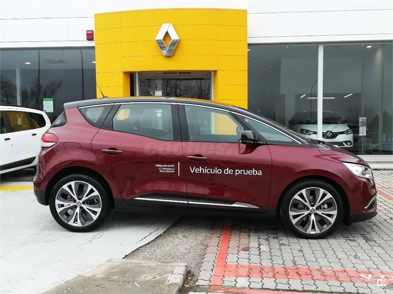 renault grand scenic zen dci 81kw 110cv diesel rojo del 2017 con 4989km en segovia 34045377. Black Bedroom Furniture Sets. Home Design Ideas