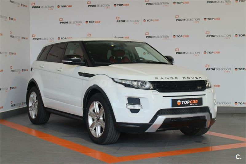 land rover range rover evoque 4x4 td4 150cv 4x4 dynamic auto diesel de color blanco del a o. Black Bedroom Furniture Sets. Home Design Ideas