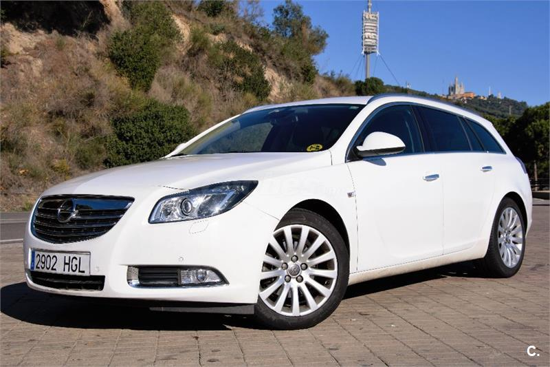 opel insignia sports tourer 2 0 cdti eco ss 160 cosmo diesel blanco 4 del 2011 con 125000km en. Black Bedroom Furniture Sets. Home Design Ideas
