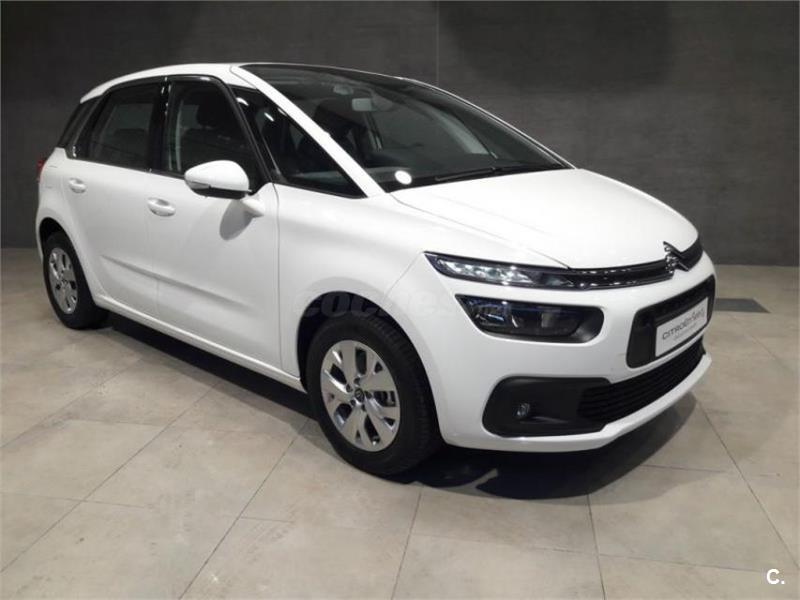 citroen c4 picasso monovolumen bluehdi 73kw 100cv ss live diesel de km0 de color blanco en alava. Black Bedroom Furniture Sets. Home Design Ideas