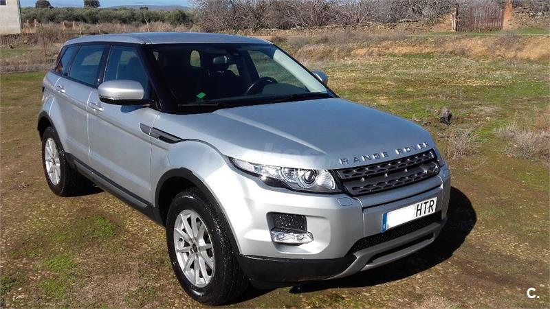 land rover range rover evoque 4x4 td4 150cv 4x4 pure auto diesel de color gris plata 6. Black Bedroom Furniture Sets. Home Design Ideas