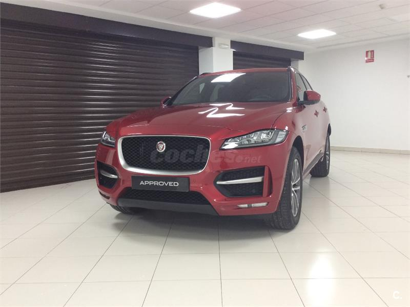 jaguar f pace 4x4 suv occasion espagne autovisual. Black Bedroom Furniture Sets. Home Design Ideas