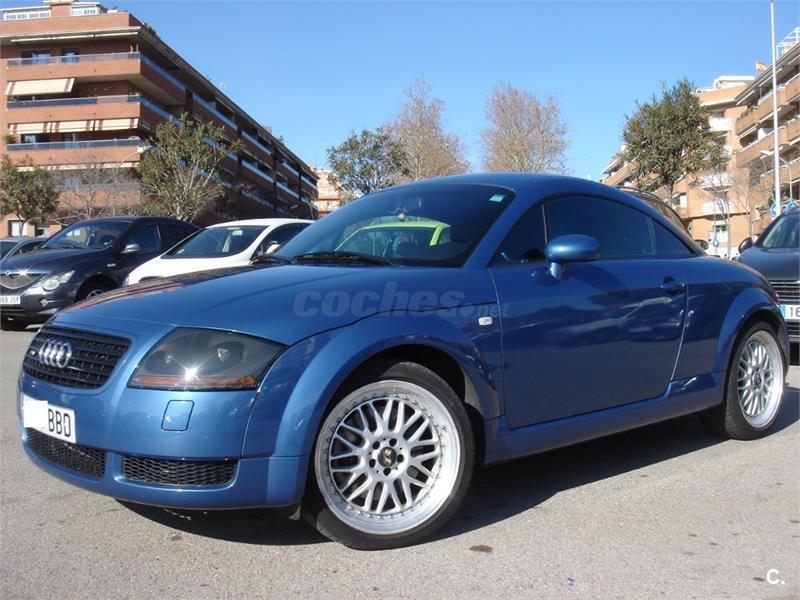 audi tt coupe 225 cv quattro gasolina azul azul del. Black Bedroom Furniture Sets. Home Design Ideas