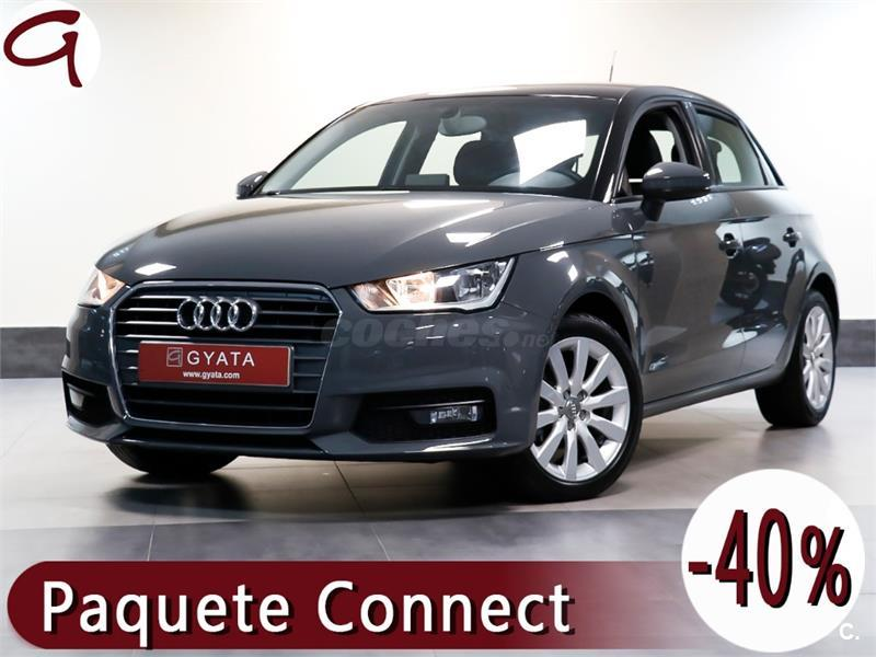 audi a1 sportback 1 0 tfsi attraction gasolina gris plata nano grey del 2016 con 44937km en. Black Bedroom Furniture Sets. Home Design Ideas