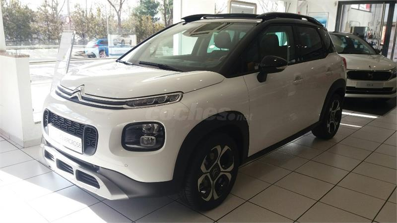citroen c3 aircross 4x4 puretech 81kw 110cv ss shine gasolina de km0 de color blanco nacarado. Black Bedroom Furniture Sets. Home Design Ideas
