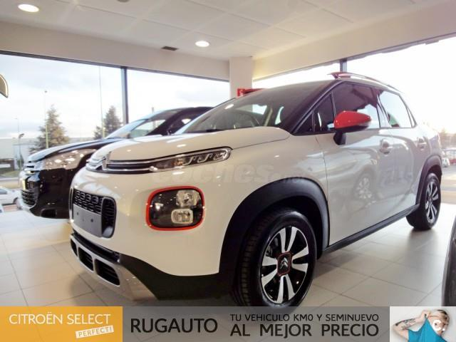 citroen c3 aircross 4x4 puretech 96kw 130cv ss feel gasolina de nuevo de color blanco blanco. Black Bedroom Furniture Sets. Home Design Ideas