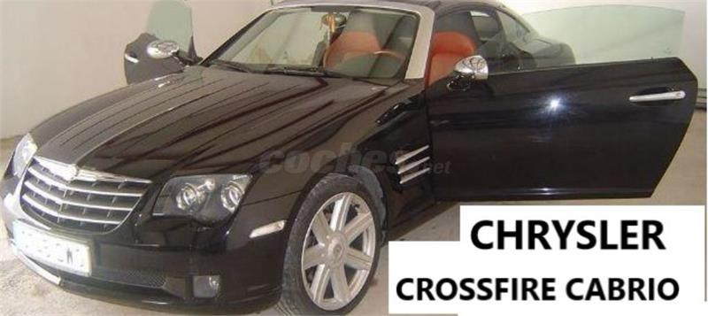 chrysler crossfire cabriolet occasion antibes 06600. Black Bedroom Furniture Sets. Home Design Ideas