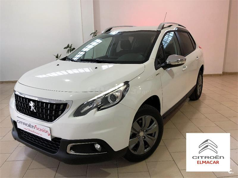 peugeot 2008 4x4 style 1 6 bluehdi 73kw 100cv diesel de km0 de color blanco en pontevedra 34245593. Black Bedroom Furniture Sets. Home Design Ideas