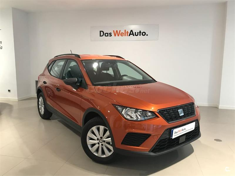 seat arona 4x4 1 0 tsi 70kw 95cv reference plus eco gasolina de demostraci n de color naranja. Black Bedroom Furniture Sets. Home Design Ideas
