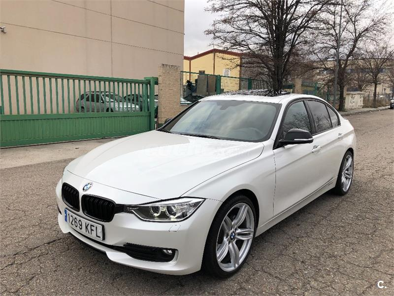 bmw serie 3 320d diesel blanco del 2014 con 104000km en madrid 34280173. Black Bedroom Furniture Sets. Home Design Ideas