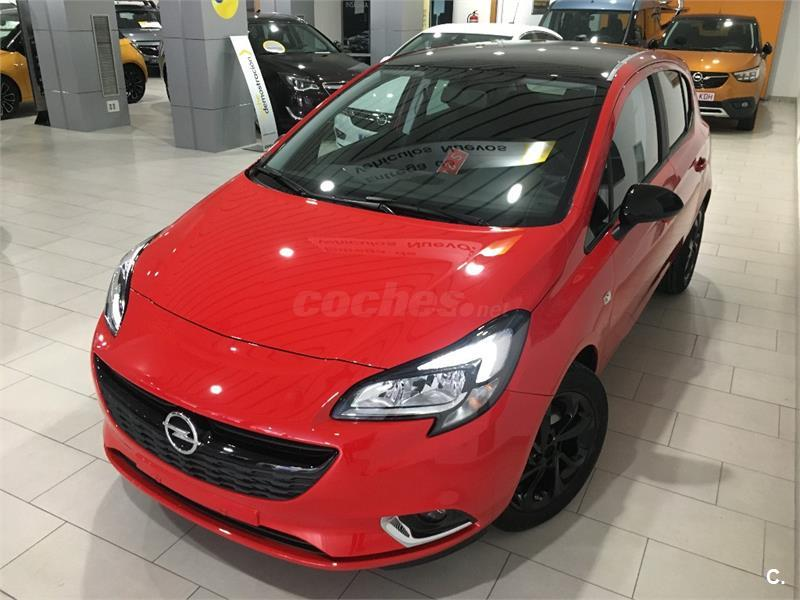 opel corsa berlina 1 4 color edition 66kw 90cv gasolina de nuevo de color rojo rojo rubi en. Black Bedroom Furniture Sets. Home Design Ideas