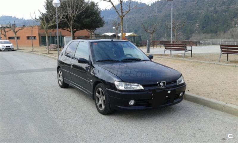 peugeot 306 xs 2 0 hdi diesel negro 9 del 2000 con 247000km en barcelona 34318186. Black Bedroom Furniture Sets. Home Design Ideas
