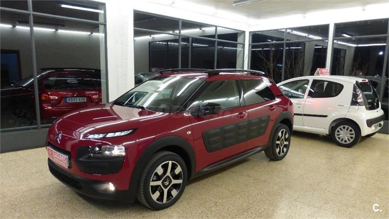 citroen c4 cactus bluehdi 73kw 100cv feel edition diesel negro del 2017 con 18467km en lleida. Black Bedroom Furniture Sets. Home Design Ideas