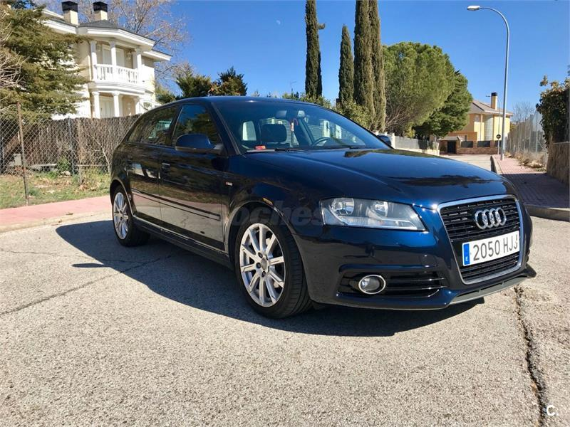 audi a3 sportback 2 0 tdi 140cv attraction diesel azul del 2012 con 139000km en madrid 34321449. Black Bedroom Furniture Sets. Home Design Ideas