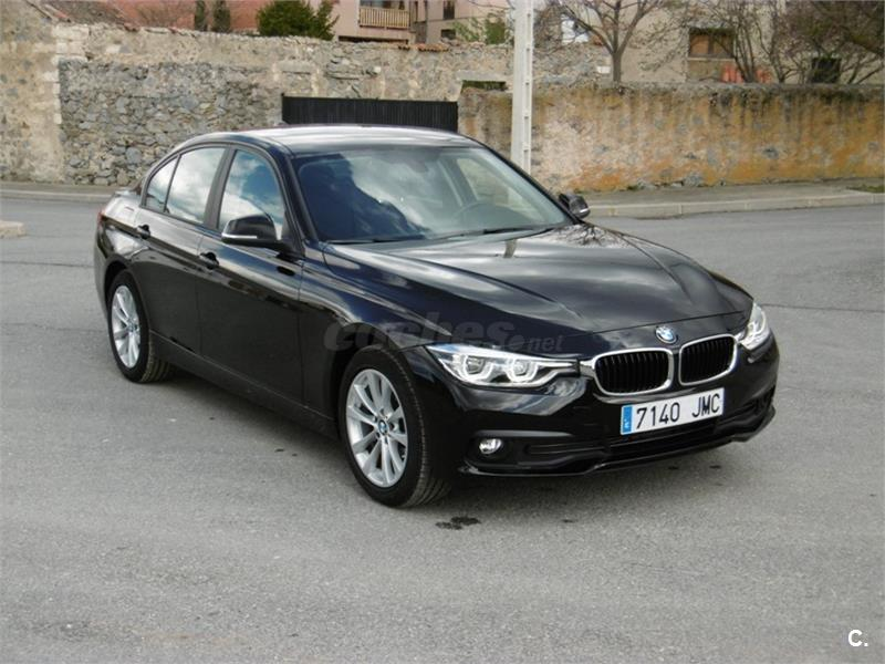 bmw serie 3 318d diesel negro del 2016 con 24995km en madrid 34341884. Black Bedroom Furniture Sets. Home Design Ideas