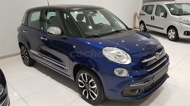 fiat 500l mirror 1 4 16v 70kw 95cv gasolina azul azul del 2018 con 1km en cantabria 34346771. Black Bedroom Furniture Sets. Home Design Ideas