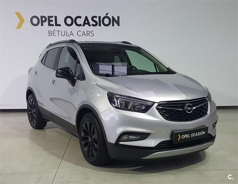 opel mokka x 4x4 1 6 cdti 100kw 4x2 ss color edition diesel de color gris plata del a o 2017. Black Bedroom Furniture Sets. Home Design Ideas