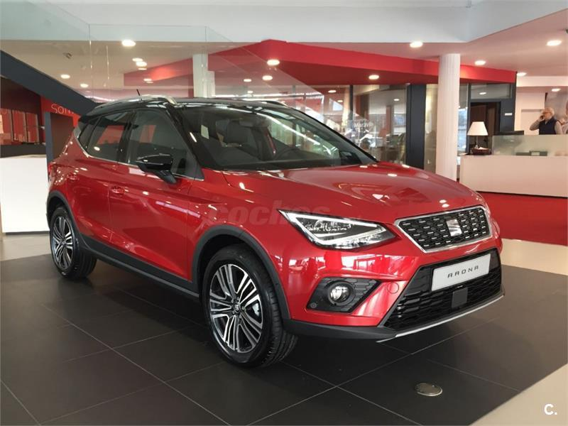seat arona 4x4 1 6 tdi 70kw 95cv xcellence ecomotive diesel de color rojo desire techo negro. Black Bedroom Furniture Sets. Home Design Ideas