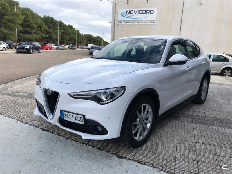 alfa romeo stelvio 4x4 2 2 diesel 132kw 180cv super rwd diesel de demostraci n de color blanco. Black Bedroom Furniture Sets. Home Design Ideas