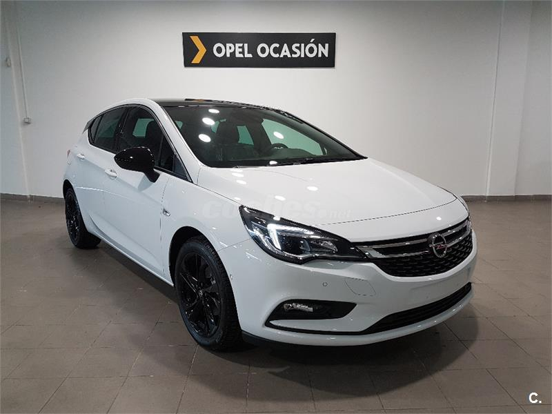 opel astra berlina 1 4 turbo ss 92kw 125cv dynamic gasolina de nuevo de color blanco black. Black Bedroom Furniture Sets. Home Design Ideas
