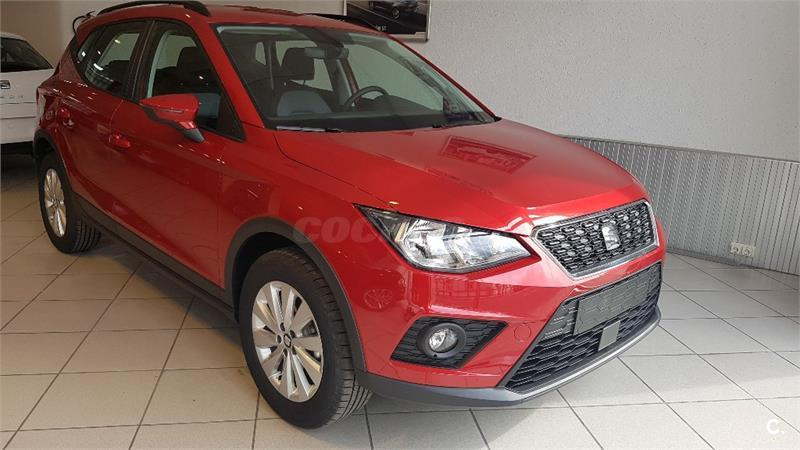 seat arona 4x4 1 6 tdi 70kw 95cv style ecomotive diesel de color rojo del a o 2018 con 30km en. Black Bedroom Furniture Sets. Home Design Ideas