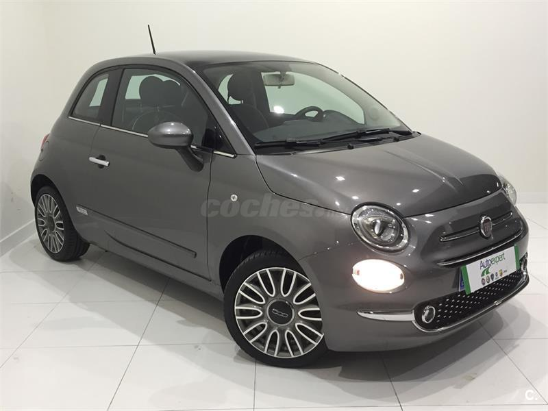 fiat 500 1 2 8v 69 cv lounge gasolina gris plata gris colosseo del 2016 con 39006km en. Black Bedroom Furniture Sets. Home Design Ideas