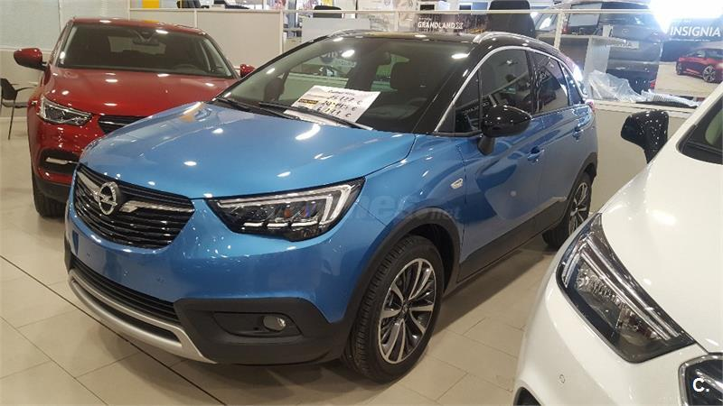 opel crossland x 4x4 96kw 130cv ultimate ss gasolina de km0 de color azul azul azul bahia. Black Bedroom Furniture Sets. Home Design Ideas