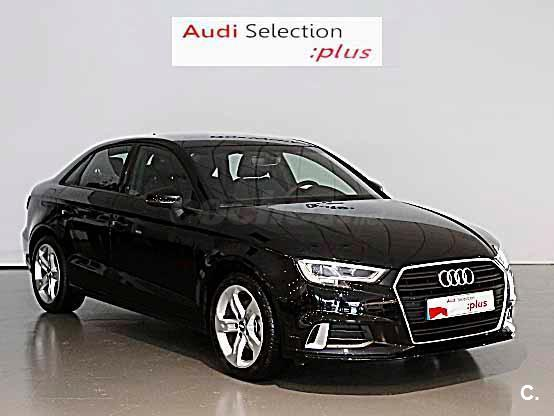audi a3 design edition 1 6 tdi 85kw116cv sedan diesel negro del 2018 con 11712km en pontevedra. Black Bedroom Furniture Sets. Home Design Ideas