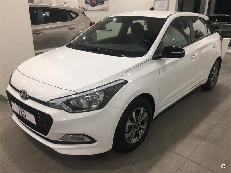 Hyundai I20 Berlina 1 2 Mpi Go Gasolina De Nuevo Color Blanco En Vizcaya 34445360