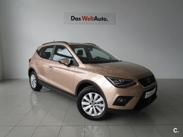 seat arona 4x4 1 0 tsi 85kw 115cv style ecomotive gasolina de color beige beige del a o 2018. Black Bedroom Furniture Sets. Home Design Ideas