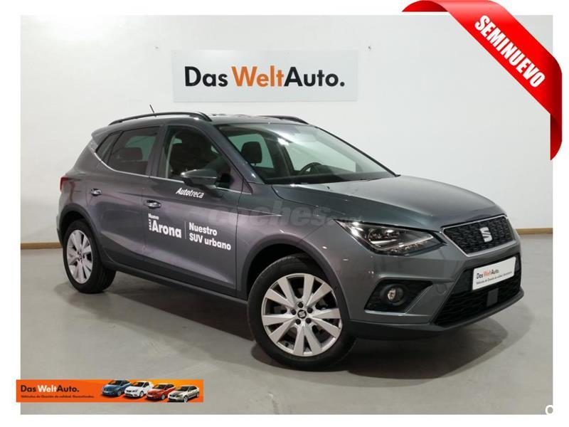 seat arona 4x4 1 0 tsi 70kw 95cv style ecomotive gasolina de color gris plata gris pirineos. Black Bedroom Furniture Sets. Home Design Ideas