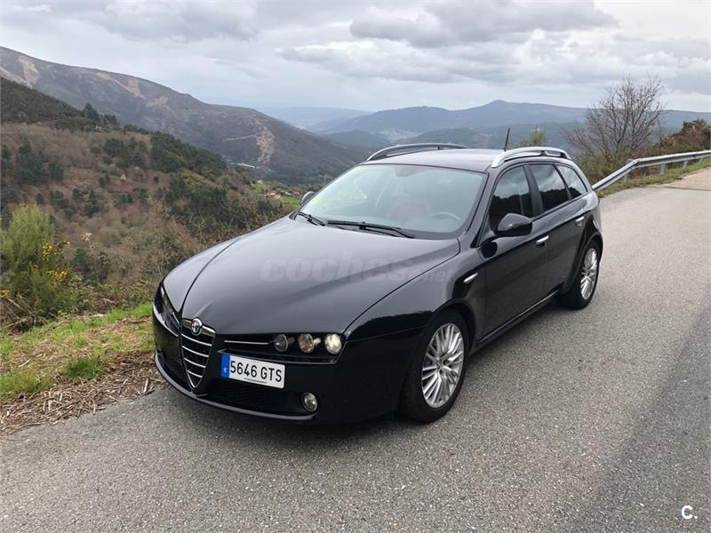alfa romeo 159 2 0 jtdm 170cv sw elegante eco diesel negro del 2010 con 245000km en pontevedra. Black Bedroom Furniture Sets. Home Design Ideas