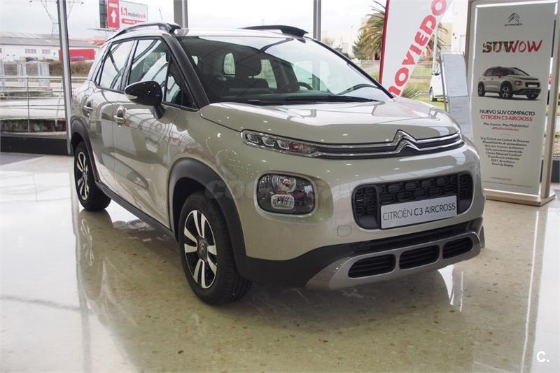 citroen c3 aircross 4x4 puretech 96kw 130cv ss feel gasolina de km0 de color beige beige sable. Black Bedroom Furniture Sets. Home Design Ideas
