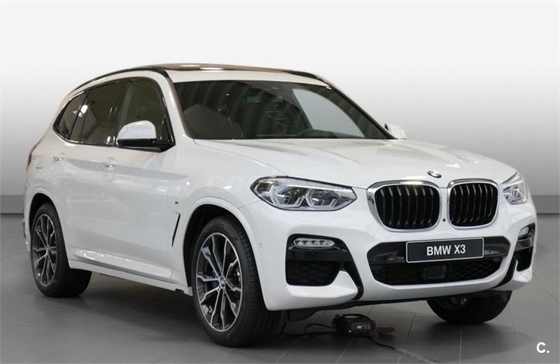 bmw x3 4x4 xdrive20d diesel de color blanco alpinweiss. Black Bedroom Furniture Sets. Home Design Ideas