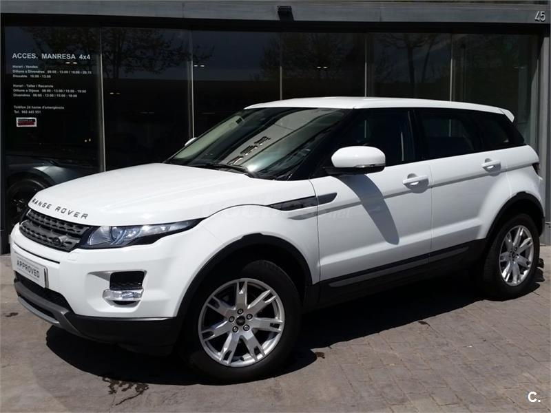 land rover range rover evoque 4x4 ed4 150cv 4x2 pure tech diesel de color fuji white. Black Bedroom Furniture Sets. Home Design Ideas