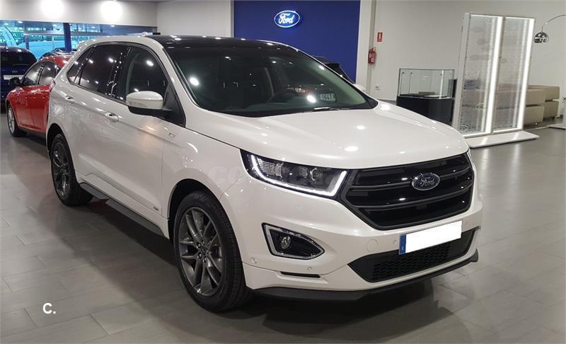Ford Edge X Tdci Kw Stline Wd Powsel De Km De Color Blanco Blanco En Malaga