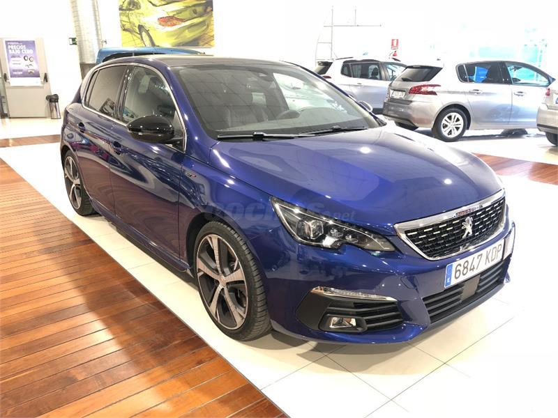 peugeot 308 gt bluehdi 132kw 180cv eat8 diesel azul azul magn tico del 2018 con 15426km en. Black Bedroom Furniture Sets. Home Design Ideas