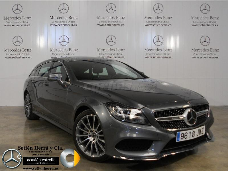 mercedes classe cls shooting brake break occasion nantes autovisual. Black Bedroom Furniture Sets. Home Design Ideas