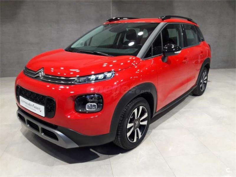 citroen c3 aircross 4x4 puretech 60kw 82cv feel gasolina de nuevo de color rojo en navarra 34781769. Black Bedroom Furniture Sets. Home Design Ideas