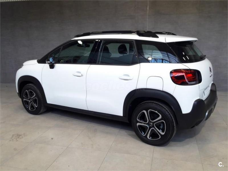 citroen c3 aircross 4x4 bluehdi 73kw 100cv feel diesel de km0 de color blanco blanco en la. Black Bedroom Furniture Sets. Home Design Ideas