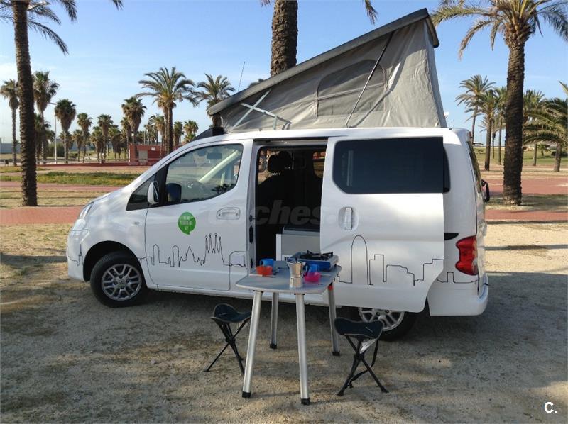 nissan evalia camper full equip en barcelona 34936396. Black Bedroom Furniture Sets. Home Design Ideas