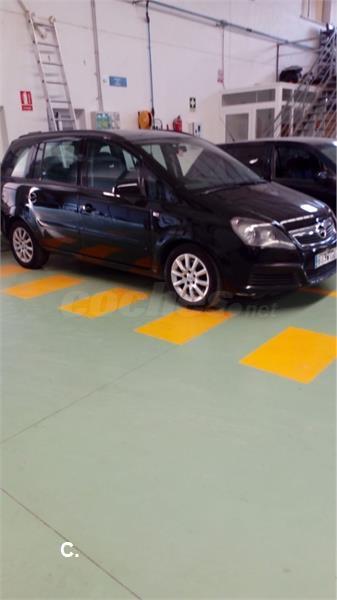 Opel Zafira 19 Cdti 100 Cv Essentia Diesel Negro Negro Del 2009