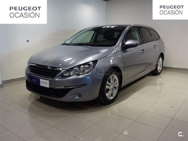 peugeot 308 sw style 1 6 bluehdi 88kw 120cv eat6 diesel gris plata gris plata del 2017 con. Black Bedroom Furniture Sets. Home Design Ideas